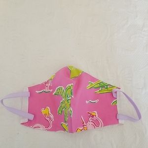 Lilly Pulitzer Homemade Mask